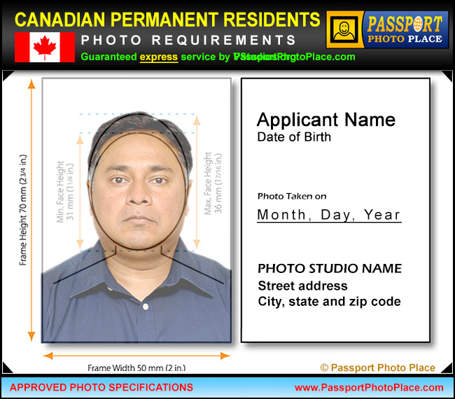 2017 canada pr card photo requirements canadian pr permanent resident ...